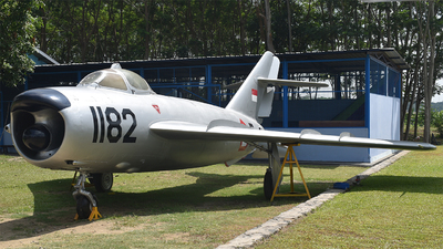 F-1182 - Mikoyan-Gurevich MiG-17PF Fresco D - Indonesia - Air Force