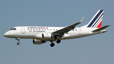 F-HBXN - Embraer 170-100LR - Air France (Régional Compagnie Aerienne)