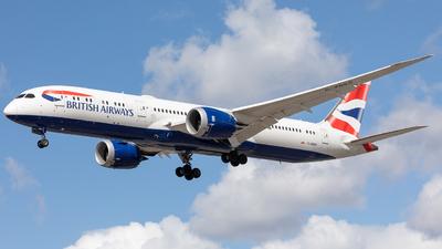 A picture of GZBKP - Boeing 7879 Dreamliner - British Airways - © Robert Smith