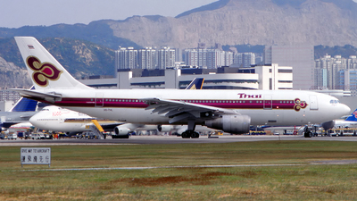 HS-THL - Airbus A300B4-2C - Thai Airways International