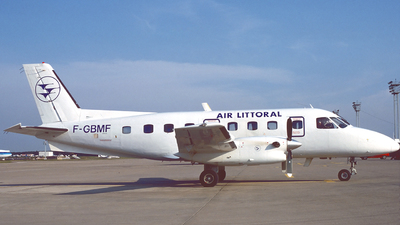 F-GBMF - Embraer EMB-110P2 Bandeirante - Air Littoral