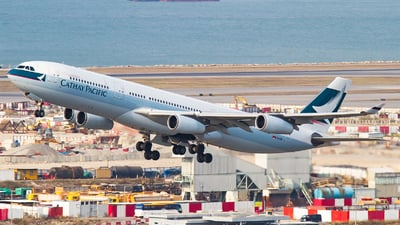 B-HXD - Airbus A340-313X - Cathay Pacific Airways