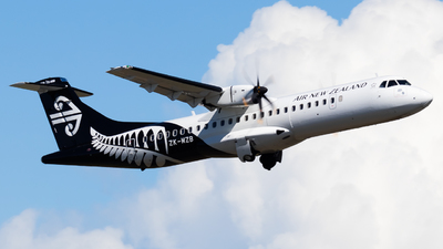 ZK-MZB - ATR 72-212A(600) - Air New Zealand