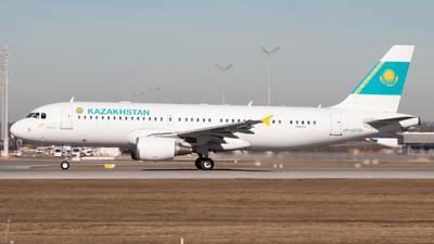 UP-A2001 - Airbus A320-214(CJ) Prestige - Kazakhstan - Government