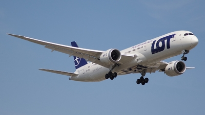 SP-LSD - Boeing 787-9 Dreamliner - LOT Polish Airlines