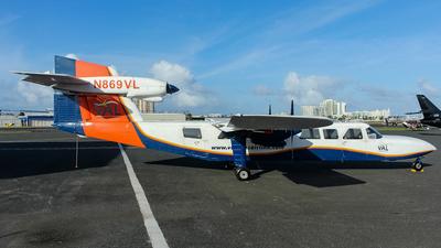 N869VL - Britten-Norman BN-2A Mk.III-2 Trislander - Vieques Air Link