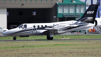 N787JF - Cessna 500 Citation I - Private