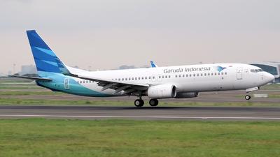 PK-GMW - Boeing 737-8U3 - Garuda Indonesia