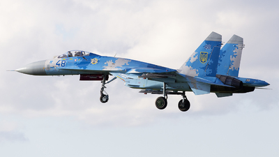 48 - Sukhoi Su-27 Flanker - Ukraine - Air Force