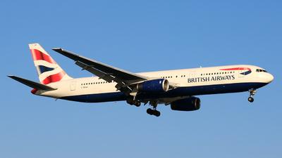 G-BNWX - Boeing 767-336(ER) - British Airways