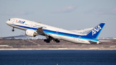 A picture of JA877A - Boeing 7879 Dreamliner - All Nippon Airways - © Resupe