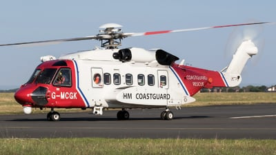 G-MCGK - Sikorsky S-92A Helibus - United Kingdom - Coast Guard