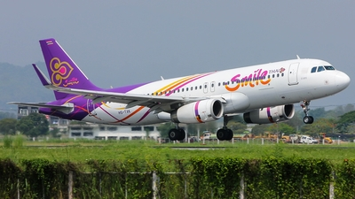 HS-TXK - Airbus A320-232 - Thai Smile