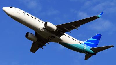 A picture of PKGFR - Boeing 73781D - Garuda Indonesia - © utta