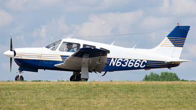 N6366C - Piper PA-28R-201 Cherokee Arrow III - Private