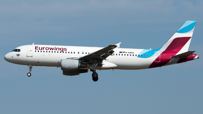 D-ABNH - Airbus A320-214 - Eurowings Europe