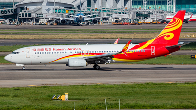 A picture of B1729 - Boeing 73784P - Hainan Airlines - © Herbert Xie