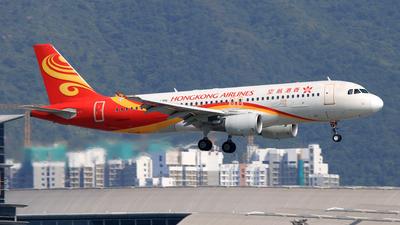B-LPH - Airbus A320-214 - Hong Kong Airlines