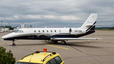 UR-CQO - Cessna 680 Citation Sovereign - Smart Aviation