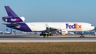 A picture of N598FE - McDonnell Douglas MD11F - FedEx - © bill wang