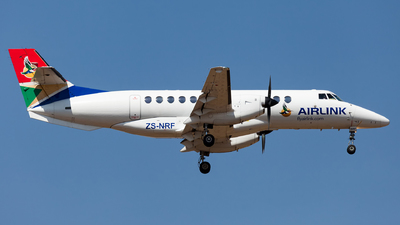 ZS-NRF - British Aerospace Jetstream 41 - Airlink