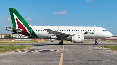 EI-IMF - Airbus A319-112 - Alitalia