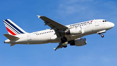 F-GRHB - Airbus A319-111 - Air France