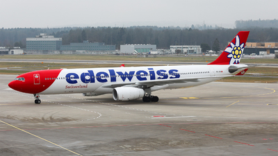 A picture of HBJHQ - Airbus A330343 - Edelweiss Air - © Goncalo Guimaraes
