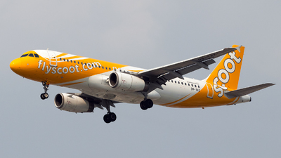 9V-TAZ - Airbus A320-232 - Scoot