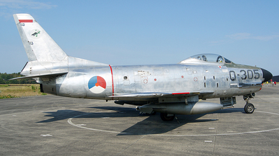 Q-305 - North American F-86K Sabre - Netherlands - Royal Air Force