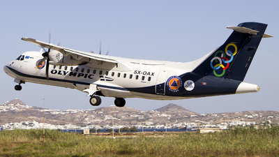 SX-OAX - ATR 42-600 - Olympic Air
