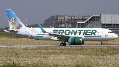 D-AXAV - Airbus A320-251N - Frontier Airlines