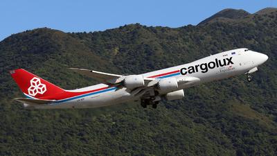 LX-VCF - Boeing 747-8R7F - Cargolux Airlines International