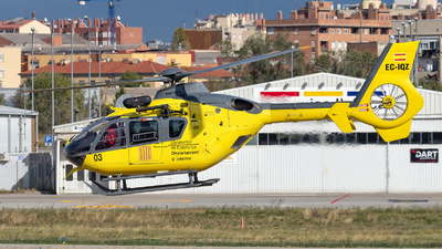 EC-IQZ - Eurocopter EC 135P2 - Spain - Government of Catalonia