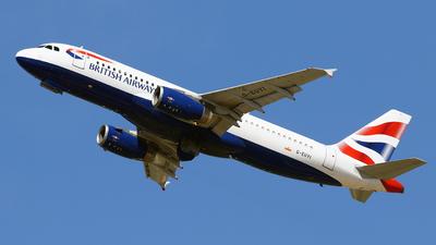 G-EUYI - Airbus A320-232 - British Airways