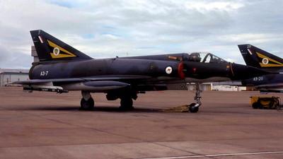 A3-7 - Dassault Mirage 3O - Australia - Royal Australian Air Force (RAAF)