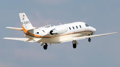D-CSFD - Cessna 560XL Citation Excel - Stuttgarter Flugdienst (SFD)