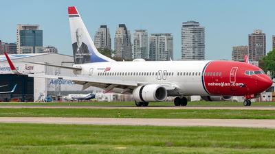 LV-IQZ - Boeing 737-8JP - Norwegian