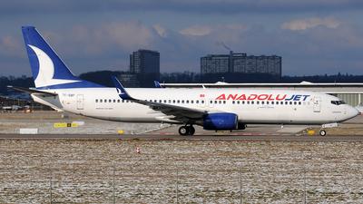 TC-SBP - Boeing 737-86N - AnadoluJet