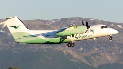 A picture of LNWIW - De Havilland Canada Dash 8100 - Wideroe - © Kim Vanvik