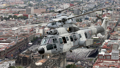 1012 - Eurocopter EC 725 Caracal - Mexico - Air Force