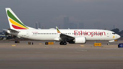 A picture of ETAVI - Boeing 737 MAX 8 - Ethiopian Airlines - © Rami Mizrahi