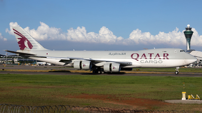 A picture of A7BGB - Boeing 74783Q(F) - Qatar Airways - © XPHNGB