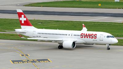 A picture of HBJCK - Airbus A220300 - Swiss - © Sebastian Thiel