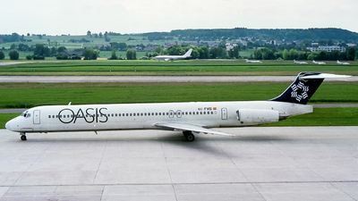 EC-FVB - McDonnell Douglas MD-83 - Oasis International Airlines