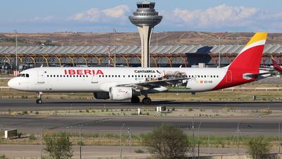 A picture of ECIXD - Airbus A321212 - Iberia - © Guille Gª del Alamo