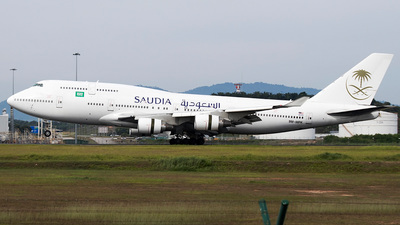 9M-MPK - Boeing 747-4H6 - Saudi Arabian Airlines (Malaysia Airlines)
