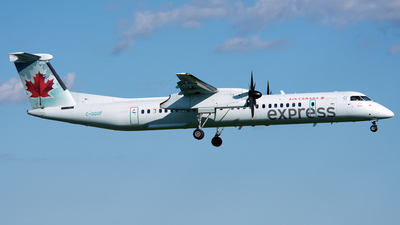 C-GGOF - Bombardier Dash 8-Q402 - Air Canada Express (Jazz Aviation)