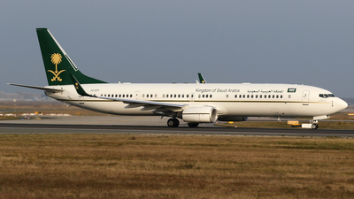HZ-MF6 - Boeing 737-9FGER(BBJ3) - Saudi Arabia - Ministry of Finance