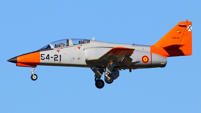 E.25-55 - CASA C-101EB Aviojet - Spain - Air Force